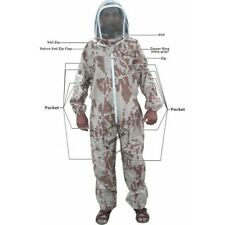 Adult Xs Lightweight Desert Camouflage Bee Suit Complete Professional Bee Suit