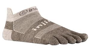 Injinji Run Original Weight No Show Wool Toesocks XL, Free Shipping