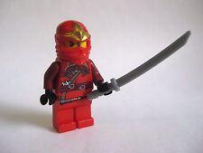 Lego KAI ZX Ninjago Red Ninja Minifigure 9443 9441 9449 9561 -NO ARMOR-