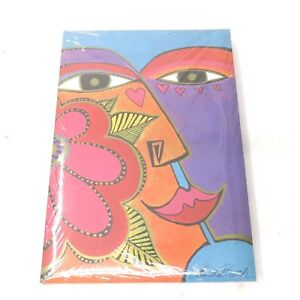 Vintage SEALED Laurel Burch Stationery Set 14 sheets / 10 Envelopes (4 SETS) NOS