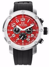 TW STEEL Grandeur Tech 45 Chronograph Men's Watch TW124  - Open Box ***