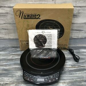 Nuwave Precision Induction Cooktop 2 Model #30151 Appliance W Box Instructions