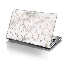 """Piel de vinilo Laptop 15.6"""" TaylorHe Adhesivo Calcomanía Cubierta De Protección Mármol Hex 2226"""