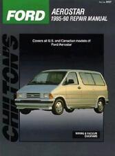 Chilton's Ford Aerostar 1985-90 Repair Manual 1990