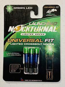 Nouveau $30 Carbon Express Crossbow Bolt Lazer Eye lighted Nock bleu modèle 58029