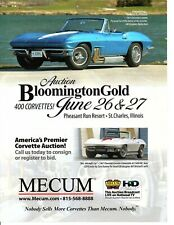 1963 CHEVROLET CORVETTE / HARLEY EARL CAR  ~  GREAT AUCTION AD