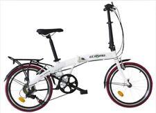 Biciclette bianca pieghevole in alluminio