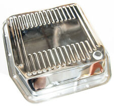 Chrome Steel Automatic Transmission Pan Trans Ford Mercury AOD Mustang GT