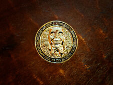 "Indiana Jones ""Fertility Idol"" Challenge Coin! Antique Shiny Gold Finish!!!"