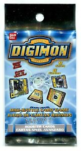 Digimon Cards Digi Battle Series 1 Booster Pack Sealed New English