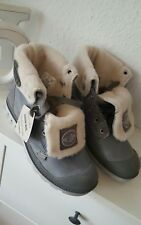 * Palladium Damen Mädchen Schuhe Boots Stiefel Wolle grau Gr. 36 NEU ***