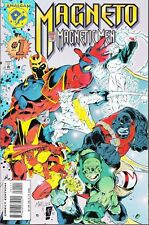 MAGNETO AND HIS MAGNETIC MEN #1 1996 MARVEL -JEFF MATSUDA-a...NM-