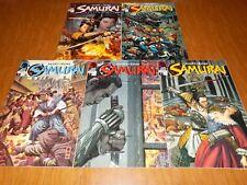 "Samurai ""Heaven and Earth"" #1 - #5 (Dark Horse Comics) Marz / Ross - MUST SEE"