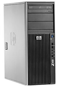 [C] HP Z400 WORKSTATION Intel Xeon W3520 FX1800 16GBRAM 500GBHDD Liquid Cooling