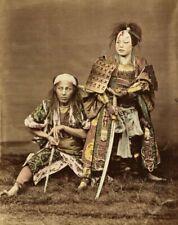 Japanese Female Samurai Warrior Onna-Musha Print Poster Wall Art Picture A4 +