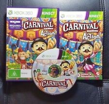 Carnival Games in Action (Microsoft Xbox 360, 2011) Xbox 360 Kinect Game - VGC