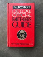 Mr. Boston Bartenders Guide Deluxe Official