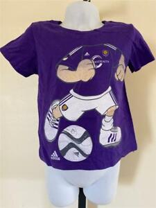 New Orlando City FC Kids Size 2T Purple Adidas Shirt