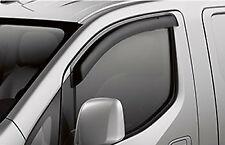 Genuine Nissan 2013-2020 NV200 Front Side Window Air Deflectors NEW OEM