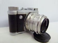 Altissa Altix-V 35mm camera 1956 with CZJ Tessar 50mm 2.8 lens CASED MINT!