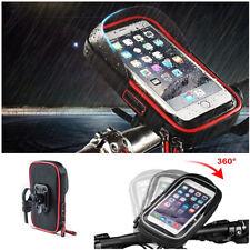 Waterproof Motorcycle Handlebar Phone Holder Wallet TPU Sensitive Touch Screen
