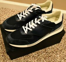 $1,195 Berluti Run Track Torino Leather, Suede Nylon Sneakers, Sz.13 US(12 UK)