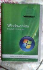 Microsoft Windows Vista und Home Premium Computer-Betriebssysteme als DVD