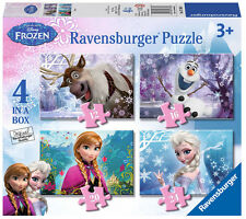 Ravensburger 7360 Disney Frozen 4 Jigsaw Puzzles Fast and Delivery
