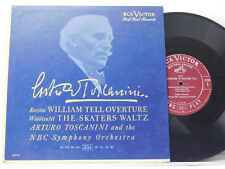 """Arturo Toscanini 10"""" Lp WILLIAM TELL OVERTURE bw THE SKATERS WALTZ   RCA VG+"""