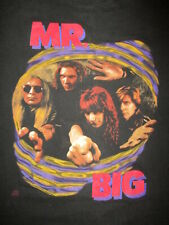 vtg 80s 90s MR BIG ALIVE & KICKING T SHIRT Paul Gilbert 1992 Concert Be With You