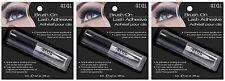 3 Ardell Brush-On Lash Adhesive Eyelash Glue Clear False Fake Lashes Eyelashes