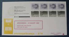 FDC Philato met Postzegelboekje 27a met aanhangsel