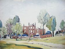ENGLISH LANDSCAPES HAMPSTEAD WALTER CRISTALL W/COL C1940
