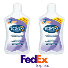Activex Complete Liquid Hand Wash Soap Refill Size - 22oz / 650 ml - Pack of 2