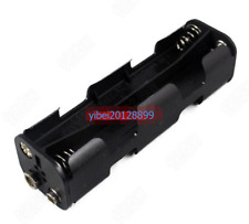1pc x Hold 8 AA Size Cell Battery Holder Box 12V DC Case With 9V connector