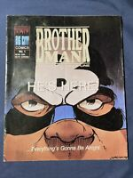 1990 BROTHERMAN DICTATOR OF DISCIPLINE #1 COMIC!!! BIG CITY COMICS.