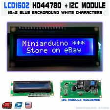 1602 BLUE LCD 16x2 HD44780 Character IIC I2C Serial Interface Adapter Module