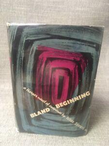 """""""Bland Beginning"""" Julian Symons First Edition HC/DJ 1949"""