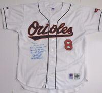 Cal Ripken Jr Autographed Signed Baltimore Orioles Jersey UNIQUE INSCRIPTION JSA
