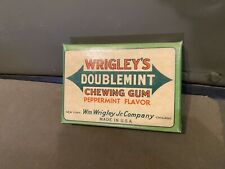 Wwii Wrigley's Double Mint Chewing Gum Box