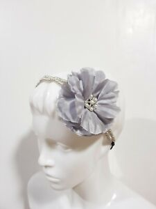 New Claire's Women's Girls Hair Accessories Headwrap Headband Rhinestone Pearl
