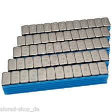 100 Wheel Weights 12x5g Stick-On 6kg Adhesive Bars Bar Premium Balancing