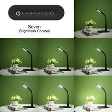 8W Dimmbar LED Schreibtischlampe, 7 Modi Tischlampe, Augenschutz, Kaltweiß Neu22