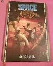 Espacio de 1889 núcleos reglas-juego de rol RPG Marte Clockwork Gaceta rol