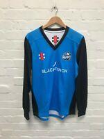 Worcestershire Rapids Gray Nicolls Cricket Men's Velocity Sweater - Blue - New