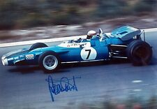 ***  JACKIE STEWART  -  MATRA  / FORD  -  SIGNED  -  F1  ***  A4 photo