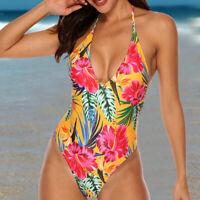 Women Push-Up One-piece Swimsuit Swimwear Monokini Bathing Suit Bikini Beachwear