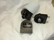 Universal Remote Billet Aluminum Oil Filter Adapter, Street Rod, Hot Rod Rat Rod