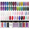 BORN PRETTY Nail Art Dipping Powder Chameleon Mirror Holographic Glitter Effect