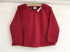 Petit Bateau Red Cotton with Tiny Dots Top Sweatshirt 4 Years old 102 cm